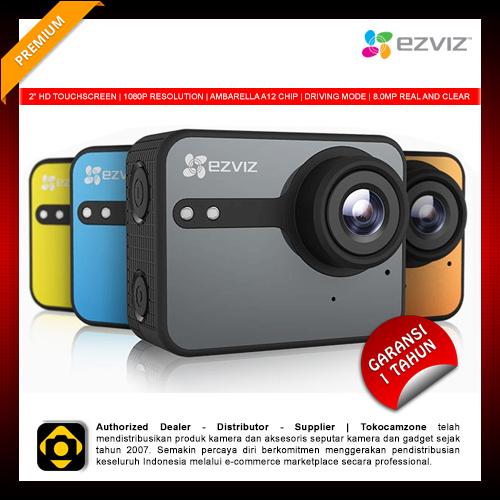 EZVIZ S1C Action Camera Wifi Full HD Touchscreen Super Clear Result