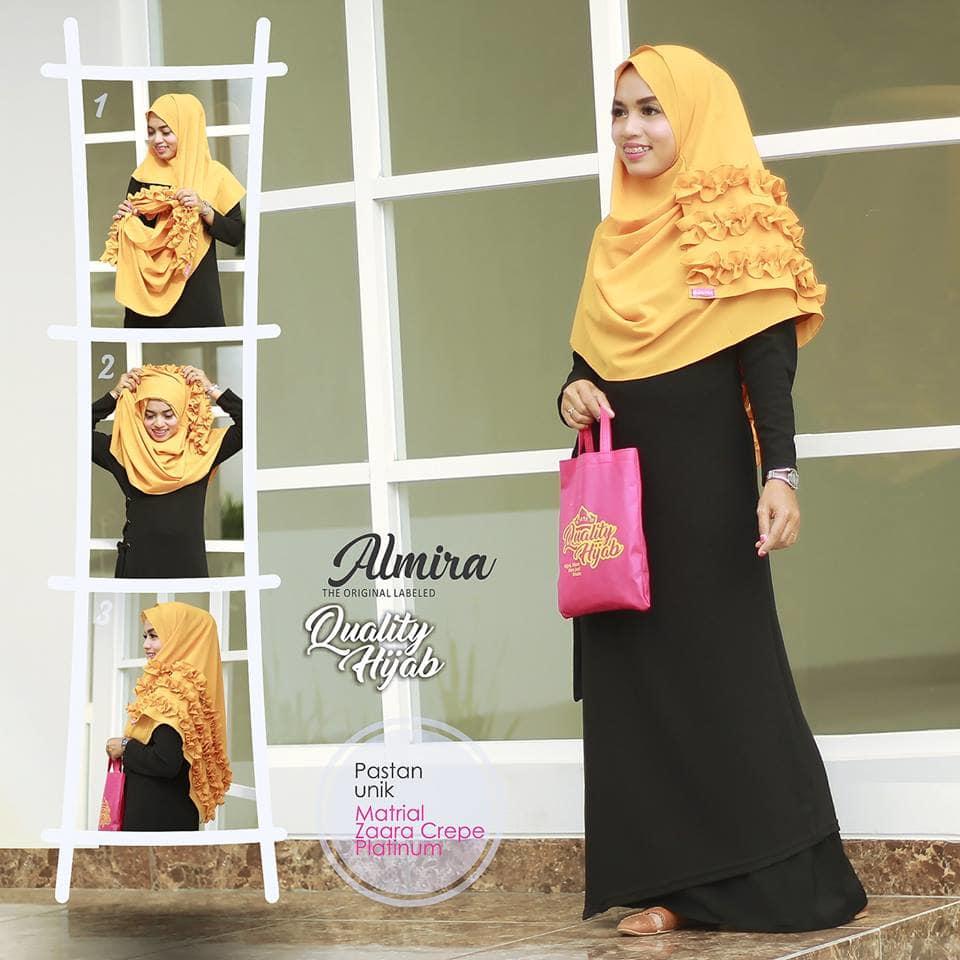 Jilbab Almira Pastan Two Fase
