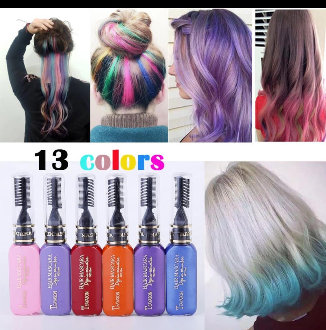 PENAWARAN 13 pilihan pewarna rambut hair dye pewarna sementra warna rambut  dye 66d5299cc3