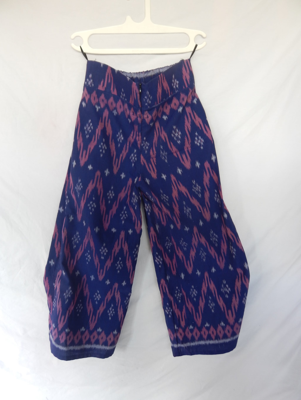 Jual Whiens Celana Kulot Tenun Produk Ukm Bumn Jaket Batik Undefined
