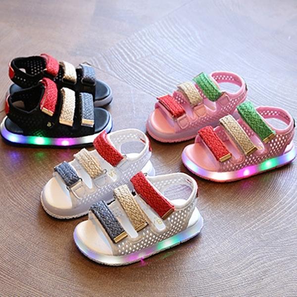 harga Sepatu Sandal Selempang Led Bayi Balita/walker Shoes Baby Fashion Blanja.com