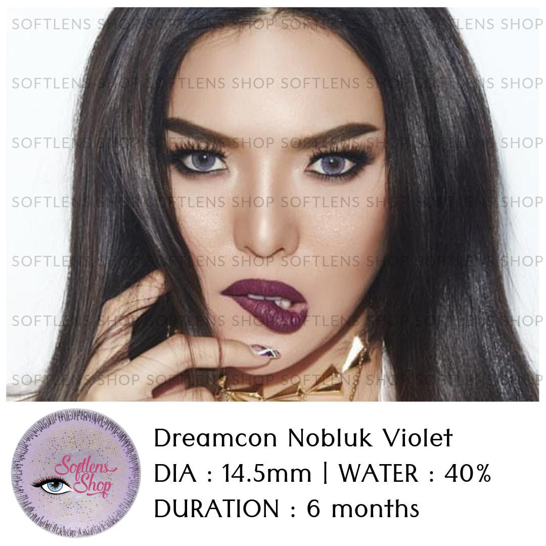 Jual Softlens Dreamcon Nobluk Violet Softlensshop Tokopedia By