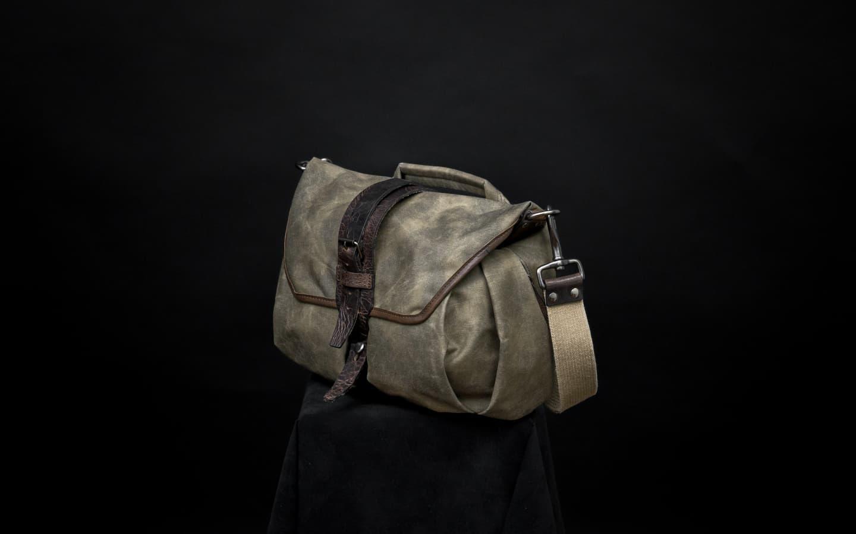 Jual Wotancraft Trooper Camera Bag S Ash Green Tas Kamera Drew Messenger Barry Tokopedia