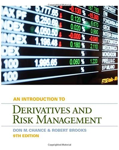 An Introduction to Derivatives and Risk Management 9th edition