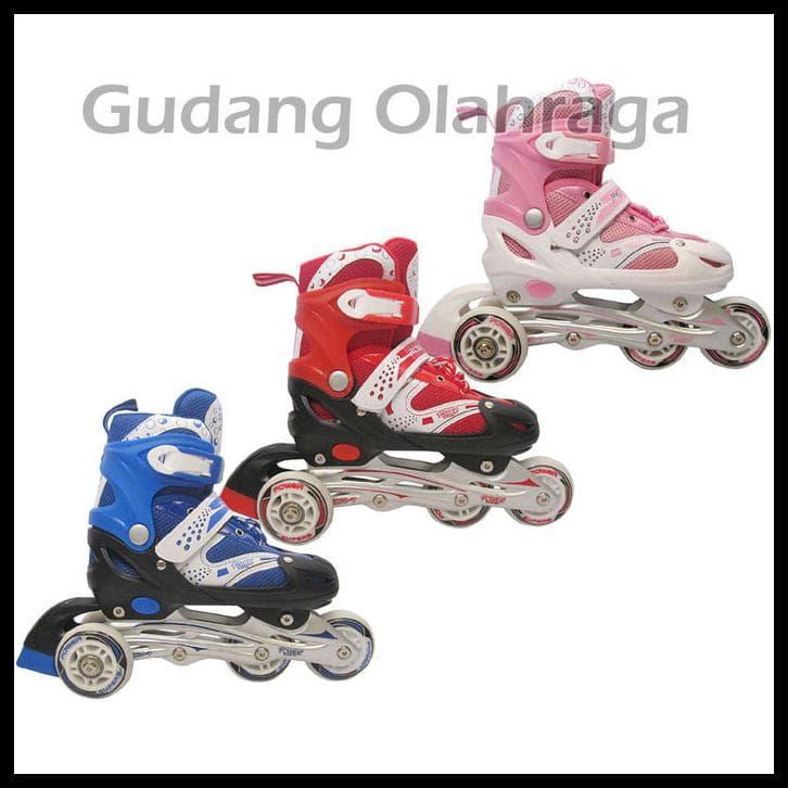 PENAWARAN Barang Oke - Sepatu Roda Bajaj Power Superb Inline Skate Model  Bajaj febd114dd1