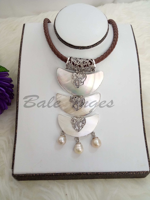 Jual Produk Ukm Bumn Kalung Bros Silver Handmade Kulit Kerang Bantal Menyusui Bayi Mutiara Dan Baroque Laut