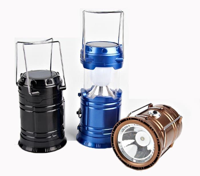 Lampu Emergency + Senter Lentera Tarik 5700