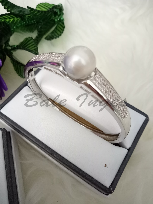 Jual Produk Ukm Bumn Perhiasan Set Rhodium Mutiara Air Laut 069 1