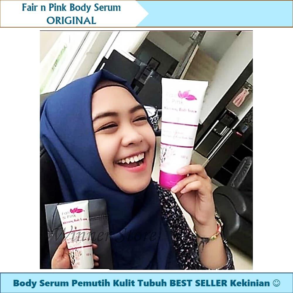 Jual Cream Pemutih Badan Lotion Serum Body Fair N Pink 160ml Tubuh Best Winner Online Store Tokopedia