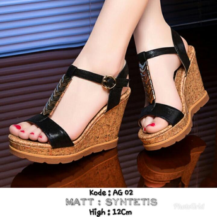 Jual sepatu wanita cantik terbaru dan termurah AG 02 ... d8352b6e8e