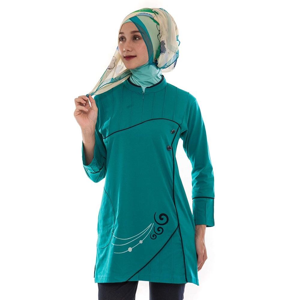 Baju Atasan Busana Blus Muslimah Blouse Muslim Wanita Cewek MF ... e44209996b