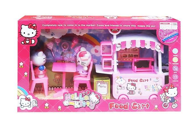 Mainan Anak HELLO KITTY FOOD CART