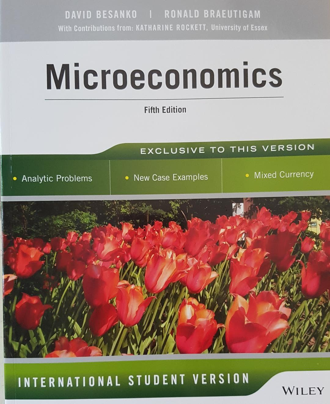 [ORIGINAL] Microeconomics 5e - David Besanko