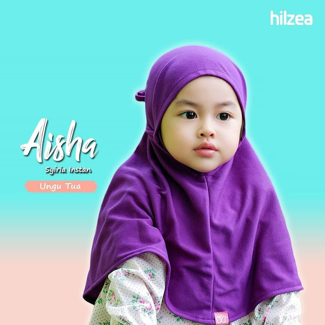 Jual Syiria Instan Polos Jilbab Anak Jilbab Bayi Hijab Anak Ungu Tua