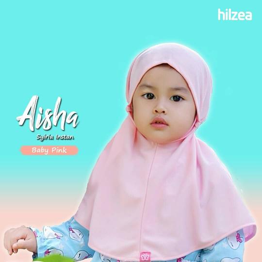 Syiria Instan Polos Jilbab Anak Jilbab Bayi Hijab Anak Baby Pink