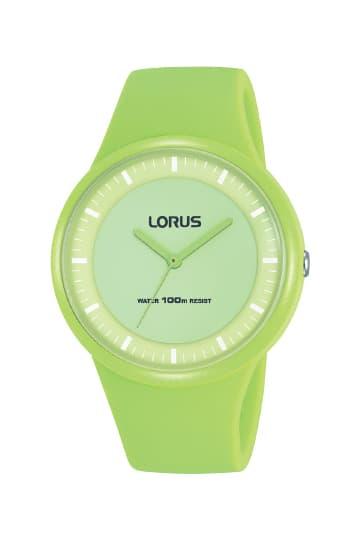 Lorus Girl RRX33FX9 Sports Jam Tangan Anak Cewek Green Hijau Muda Ori