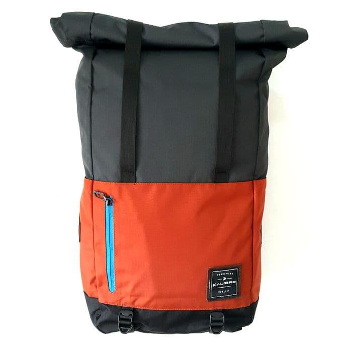 harga Kalibre Romsdal Tas Ransel Laptop Outdoor Rolltop Backpack Ransel Gulung Vintage Daypack Abu Oranye 910636-048 Blanja.com
