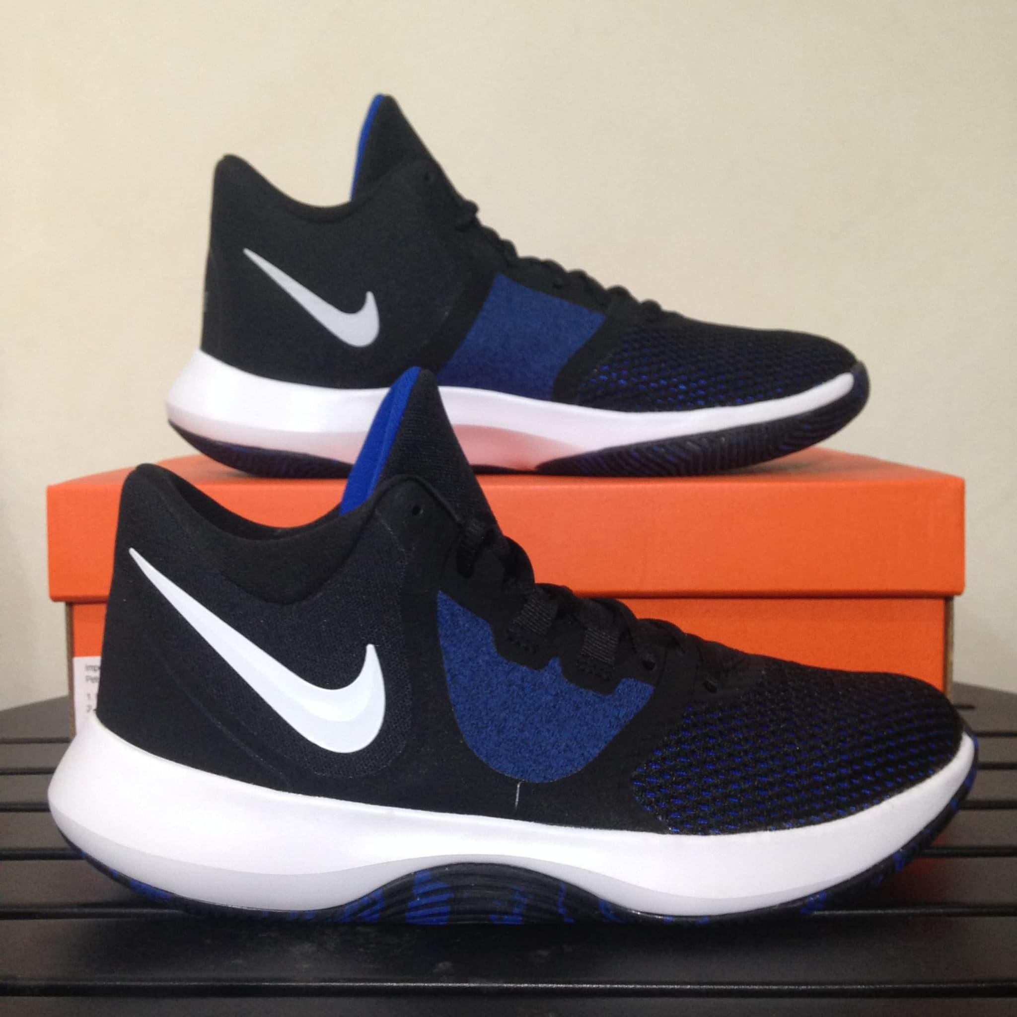 Game Air Sepatu Black Ii Aa7069 Royal Ori Nike 004 Precision Basket OX08nPkwN