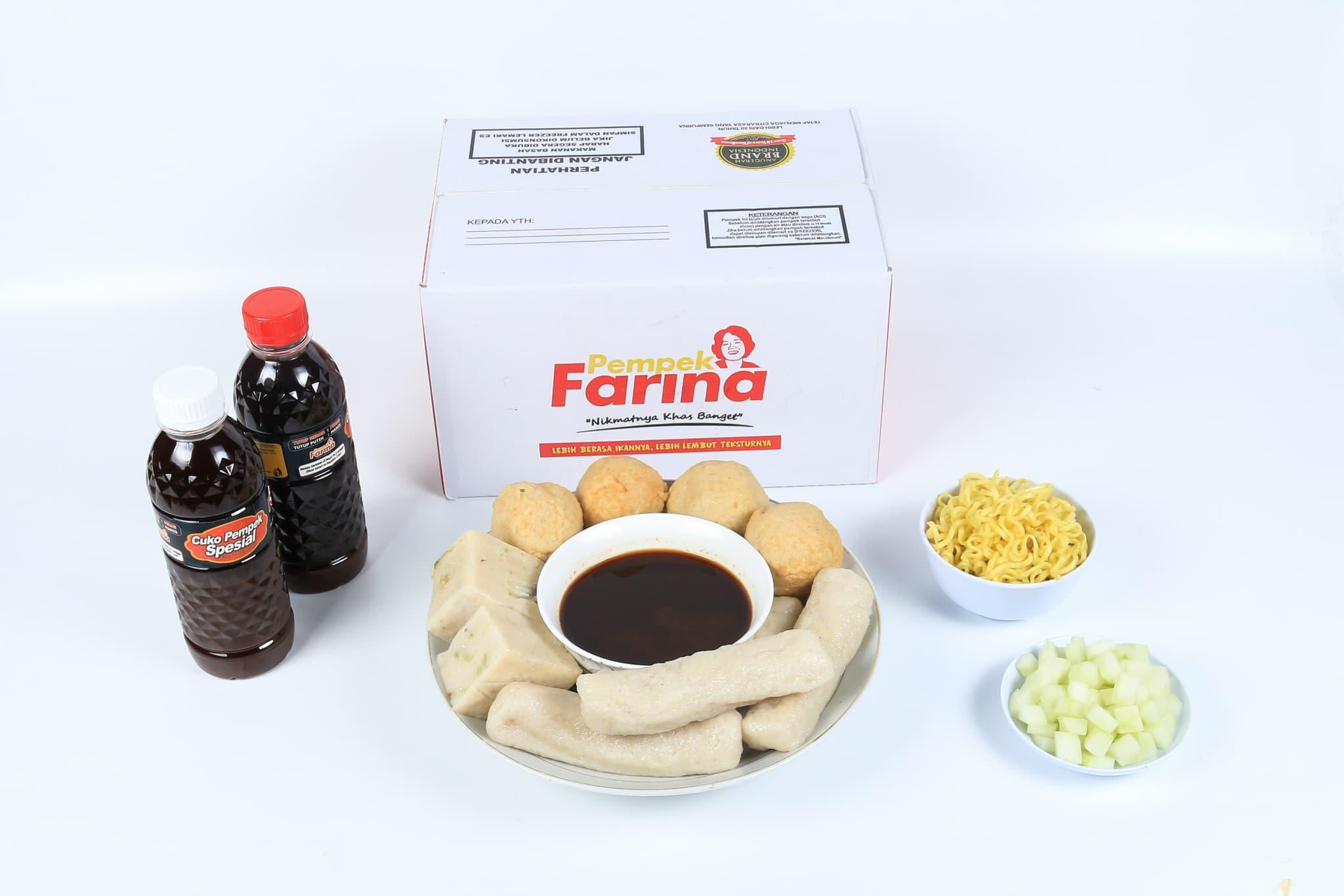 Pempek Farina Paket A3 - Blanja.com