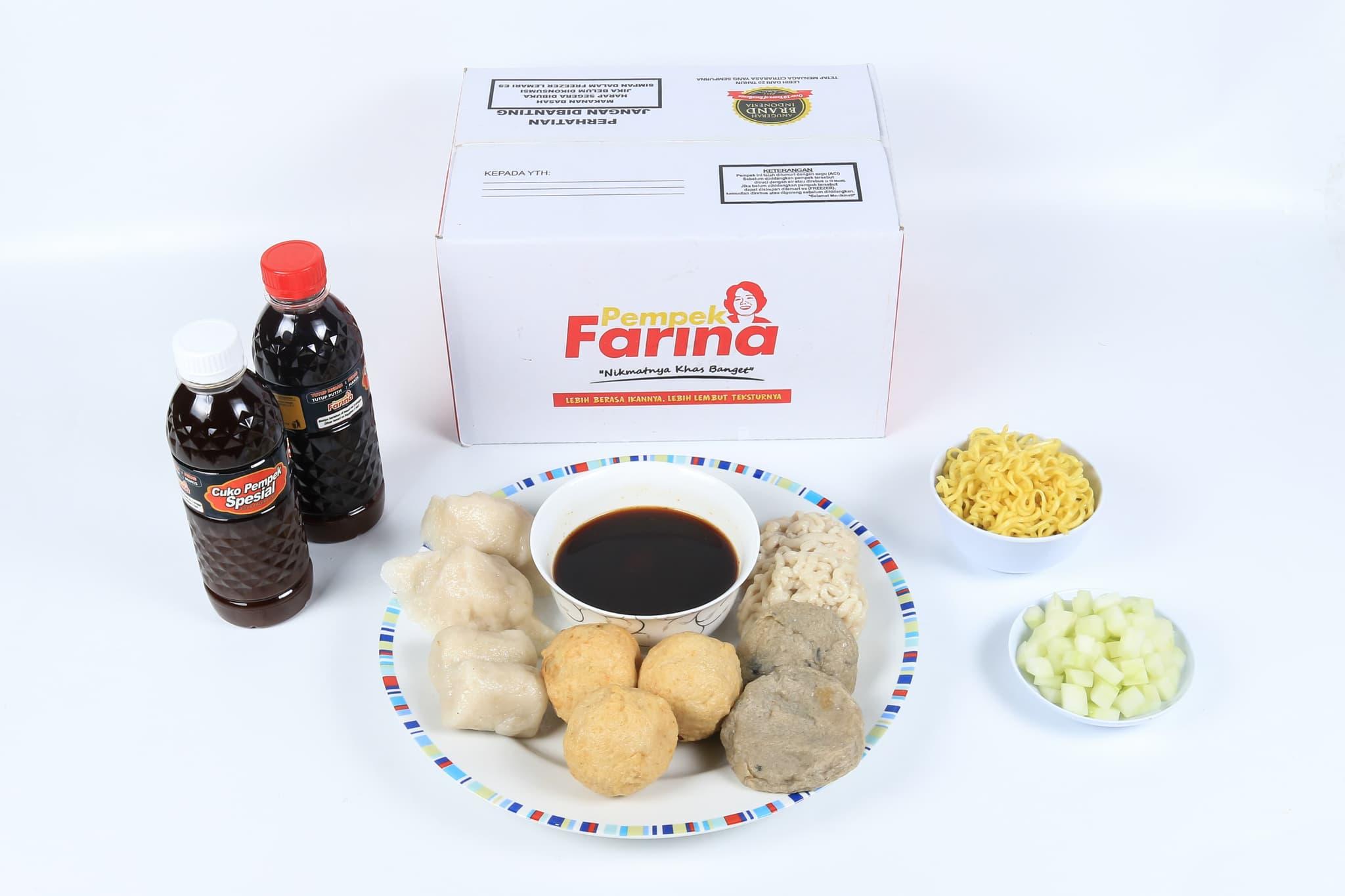 Pempek Farina Paket A5 - Blanja.com