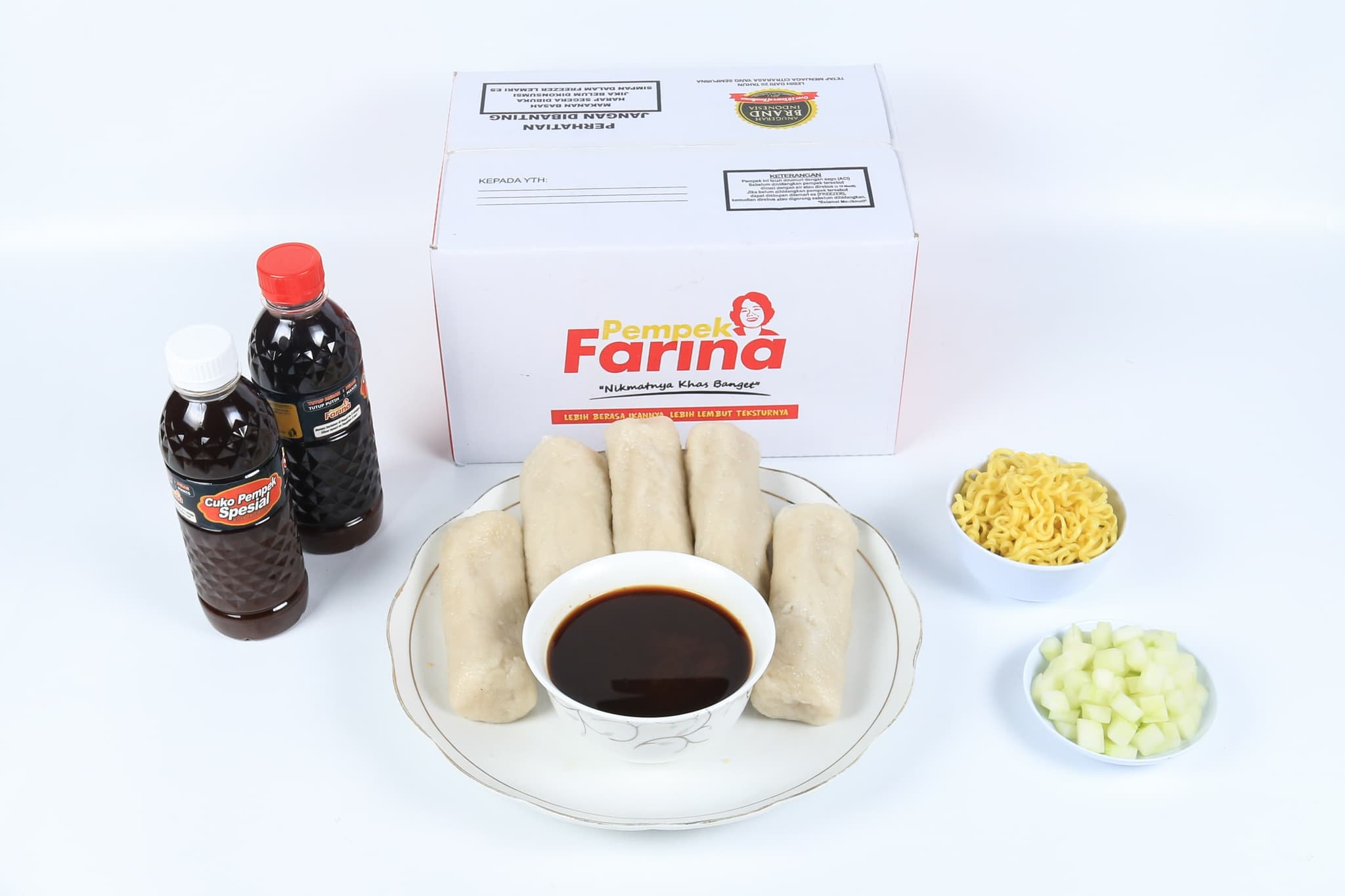 Pempek Farina Paket A4 - Blanja.com