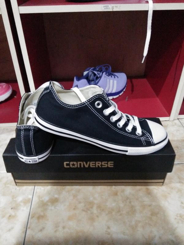 Jual sepatu converse murah original warna hitam putih - JUNO Store ... b2c0165689