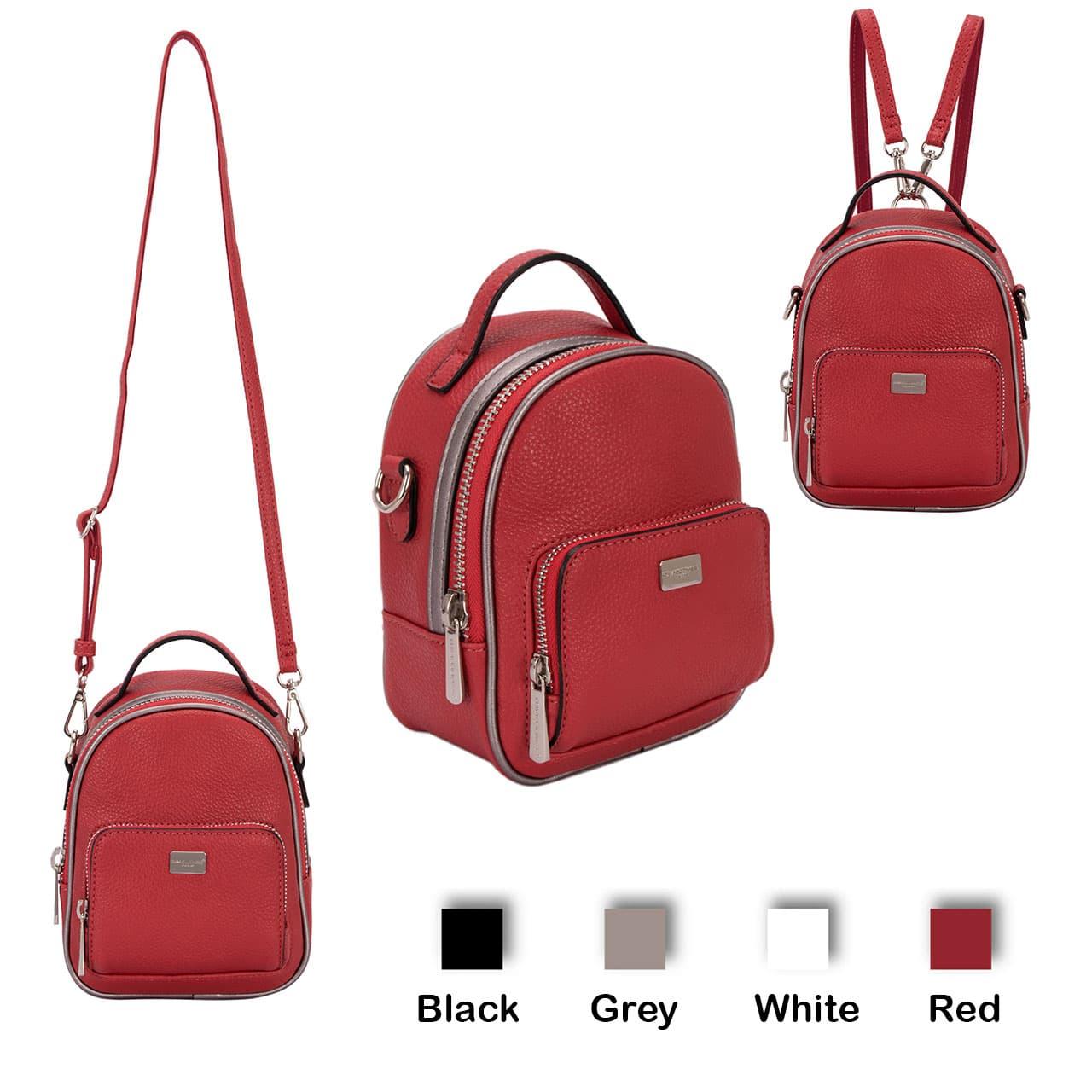 Davidjones Cm3790 Tas Punggung Backpack Ransel Mini Kulit Impor Wanita - Blanja.com