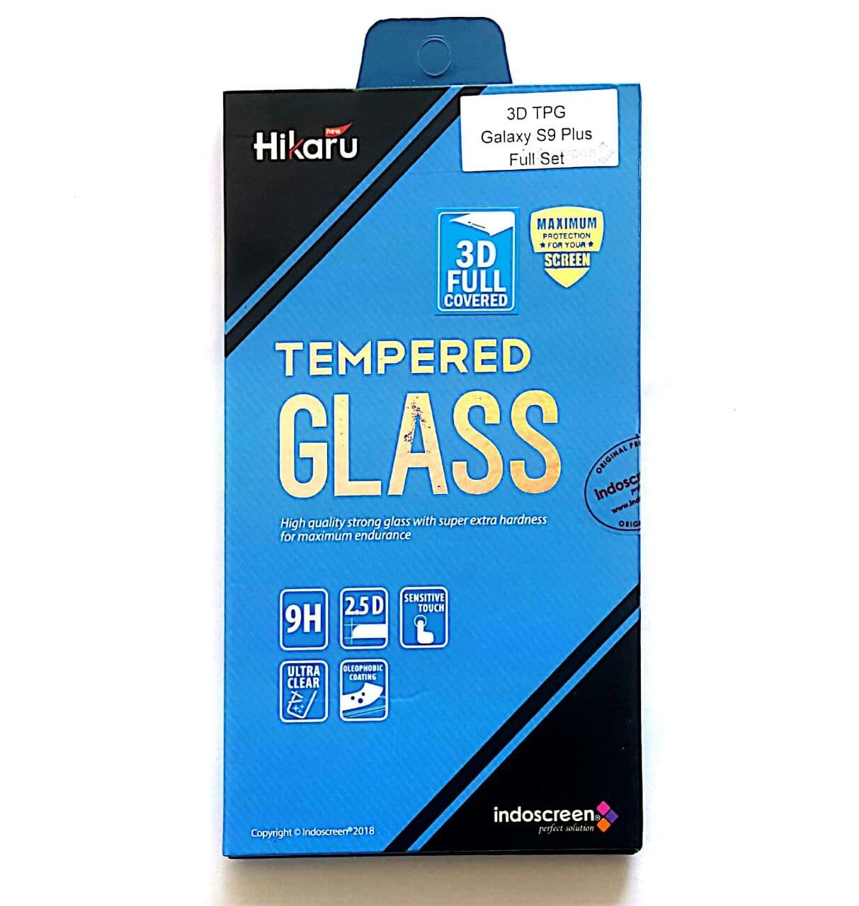 Jual HIKARU Tempered Glass 3D full cover Galaxy S9 Plus