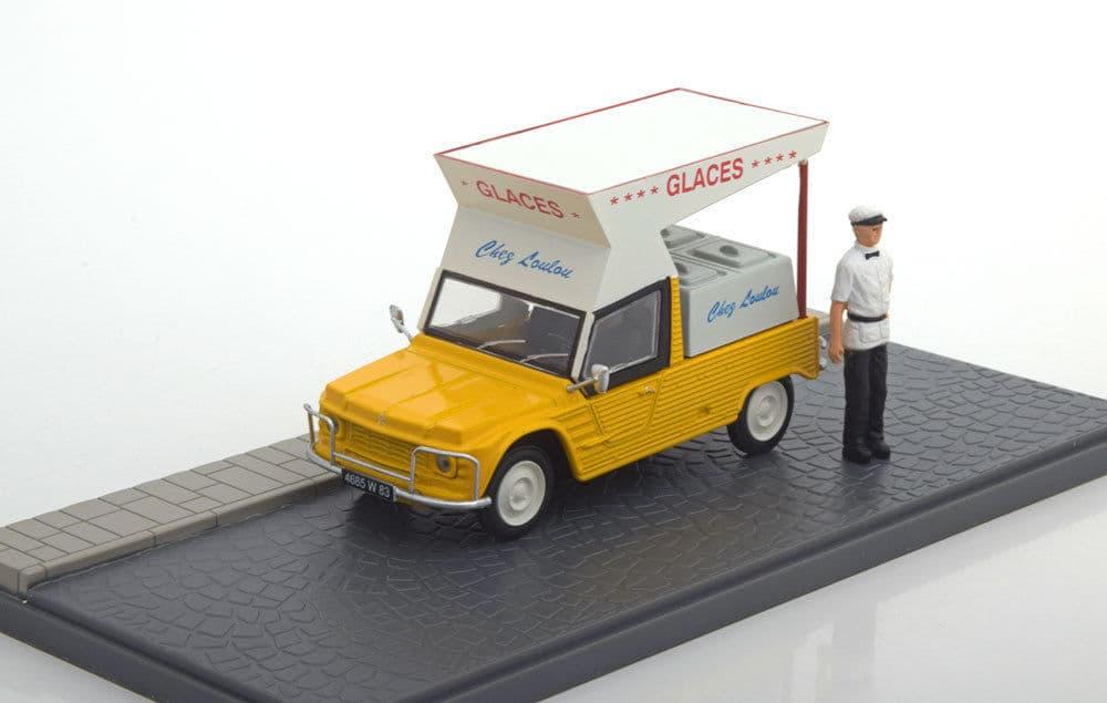 Diecast - Miniatur Citroen Mehari iceman yellow by Atlas - Blanja.com