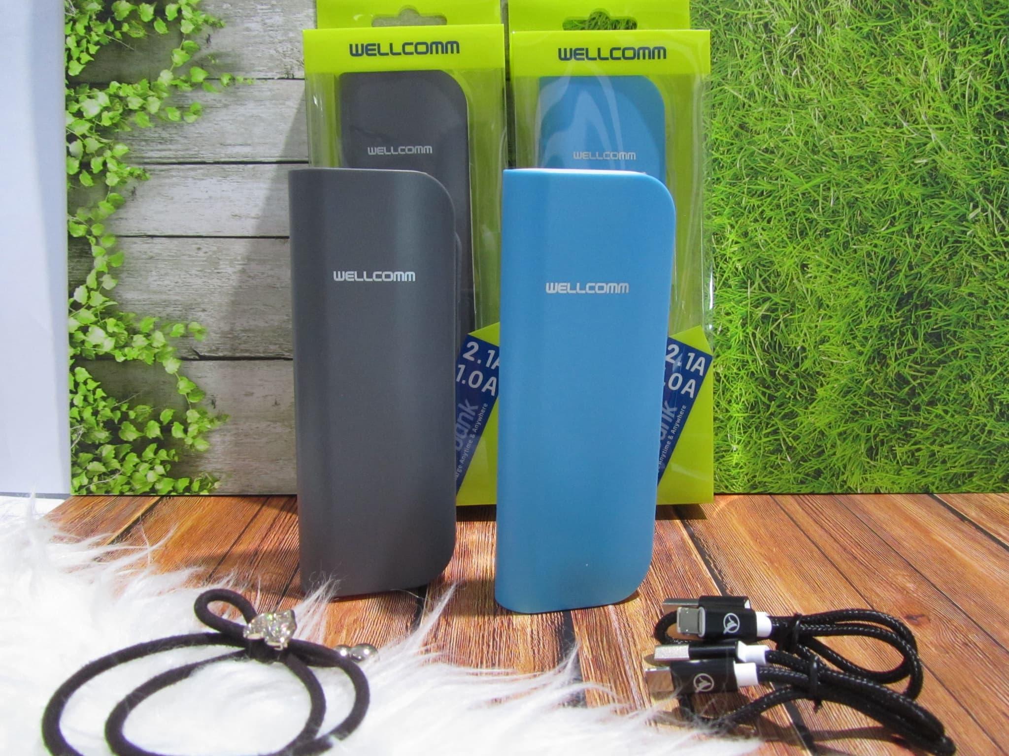 Jual Powerbank Wellcomm Mr 4000 Mah 10000mah Su 80000