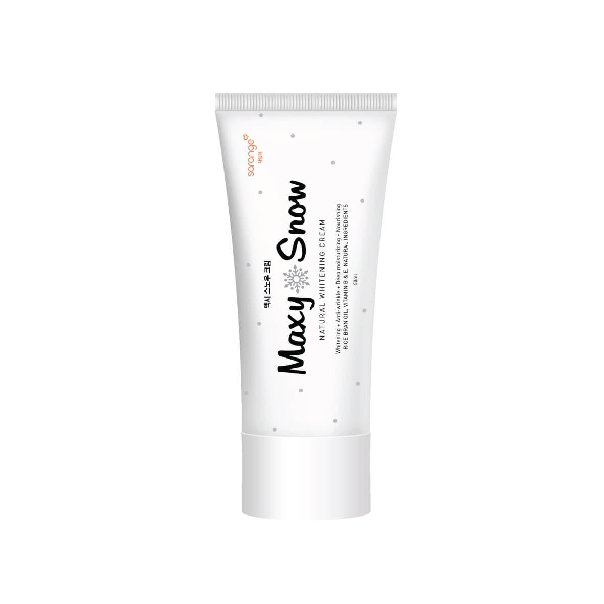 SARANGE Maxy Snow Natural Whitening Cream thumbnail