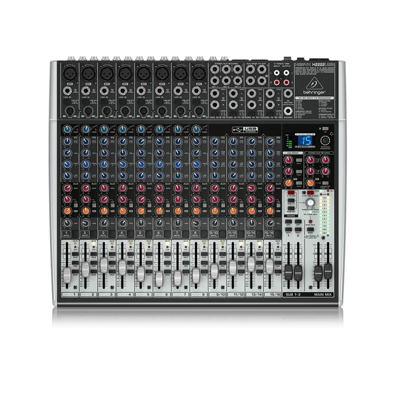 Behringer Xenyx X2222USB Audio Mixer