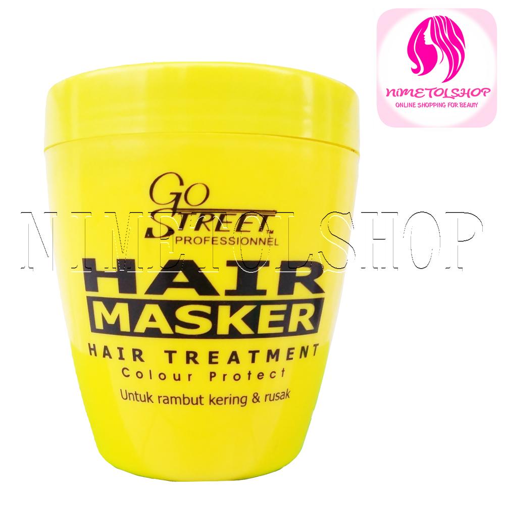 Hair Masker Gostreet 500gr Daftar Harga Terbaru Dan Terlengkap Prosil Spa Green Tea 500 Jual Go Street Treatment Rambut Kering Rusak Nimetolshop