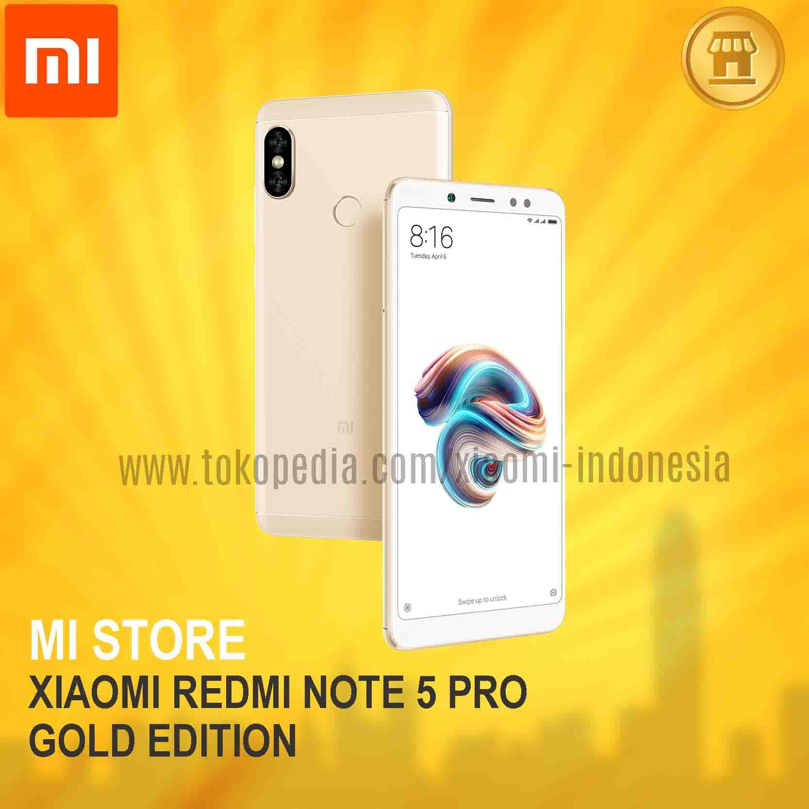Xiaomi Redmi Note 5 Pro - Gold