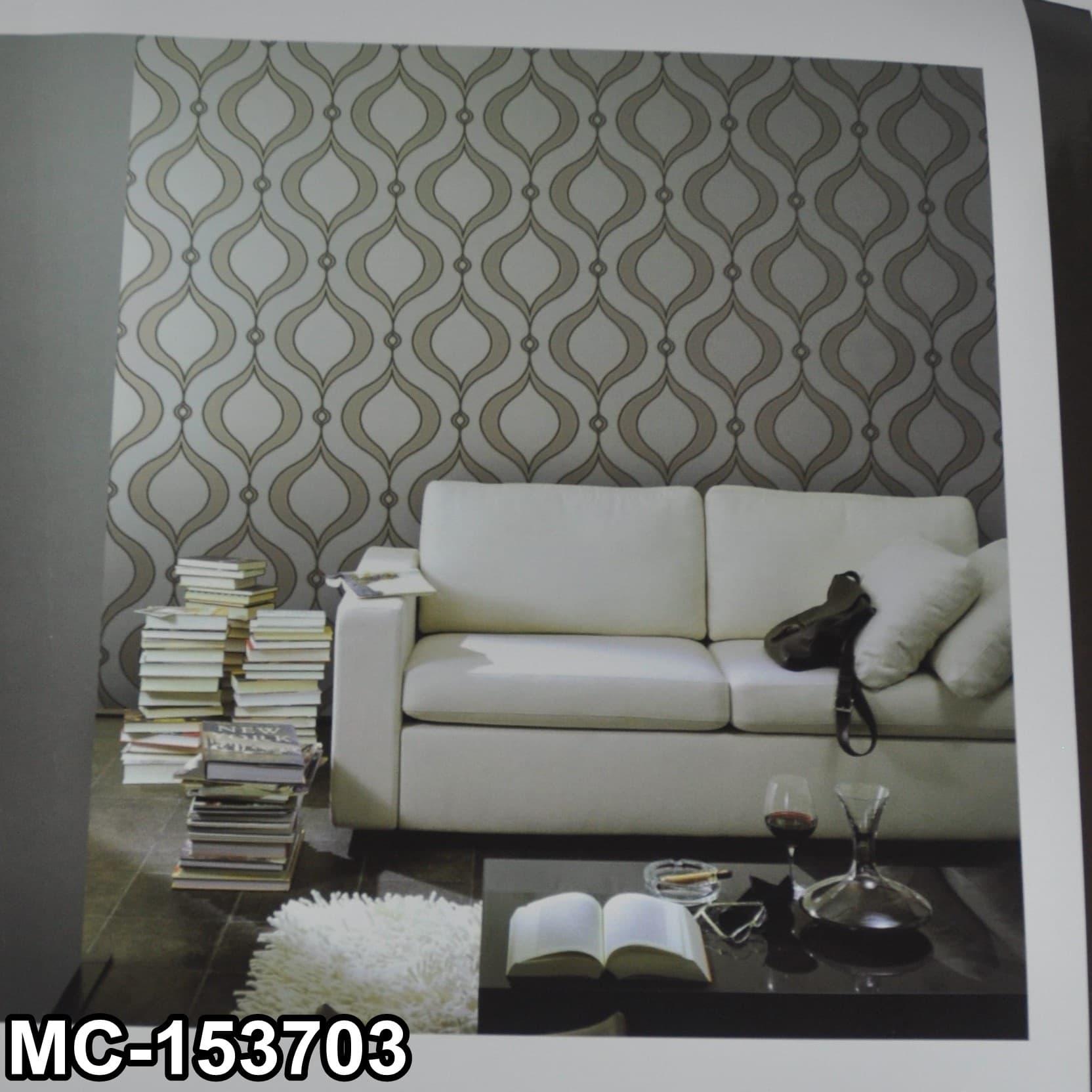 Wallpaper Dinding Motif Klasik Super Elegan