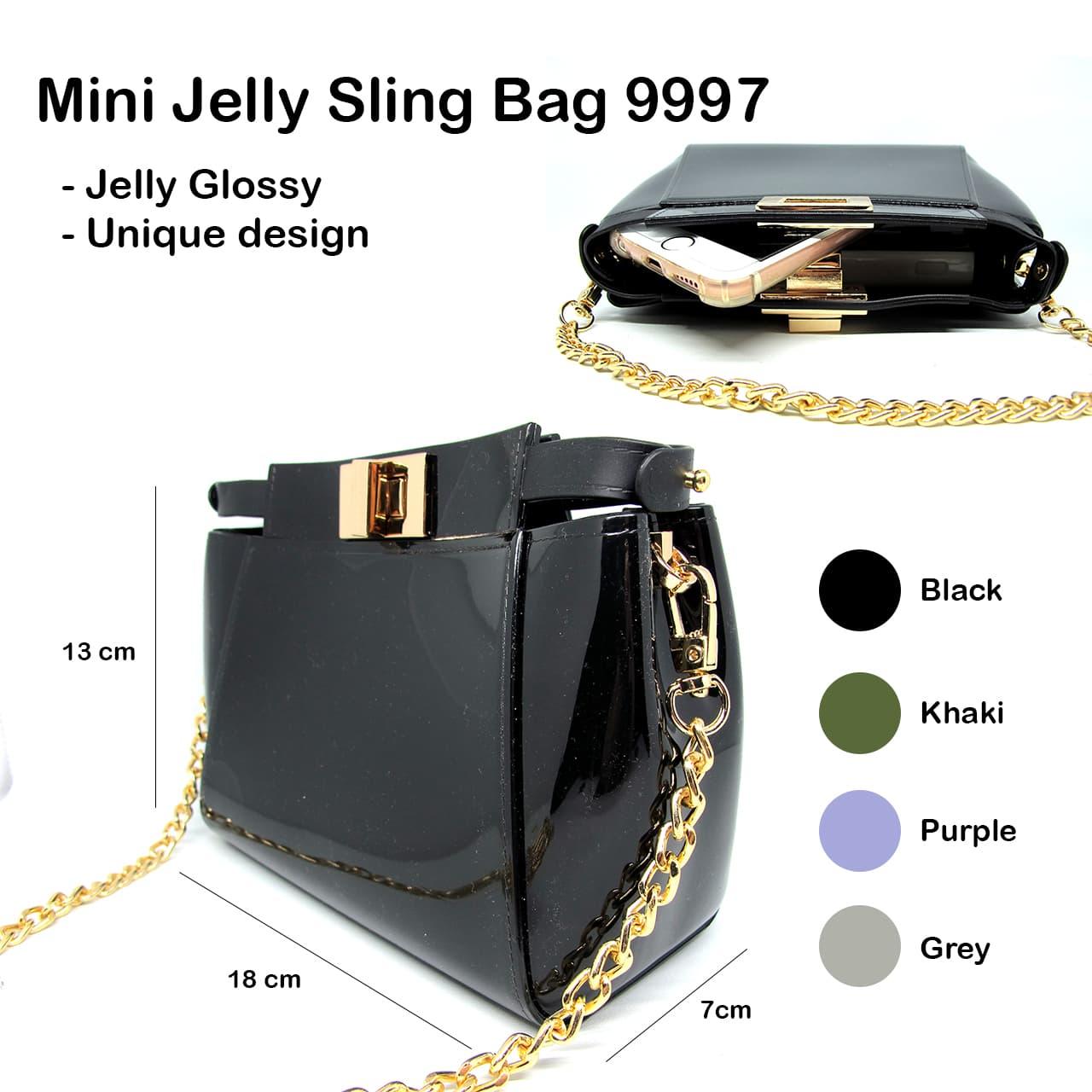 Jual Jm9997 Tas Jelly Matte Mini 18 Cm Selempang Sling Wanita Import ... dde86dee89