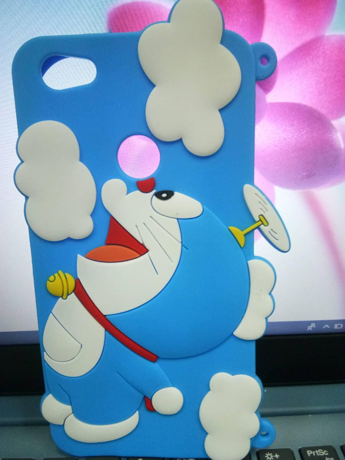Jual Softase 3d Doraemon Case Hp Lucu Silicon Boneka For Type Iphone Warior Shop