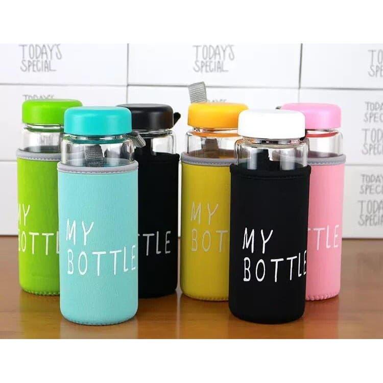 My Bottle + Pouch Warna Infused Water 500ml - Botol Minum - Warna Acak - Blanja.com