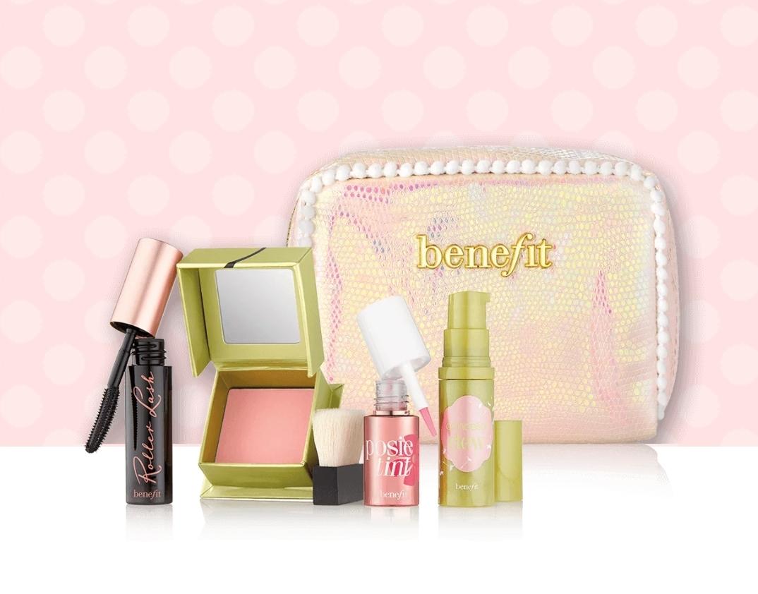 Benefit I Pink, I love you Dandelion Set Original 100% - Blanja.com