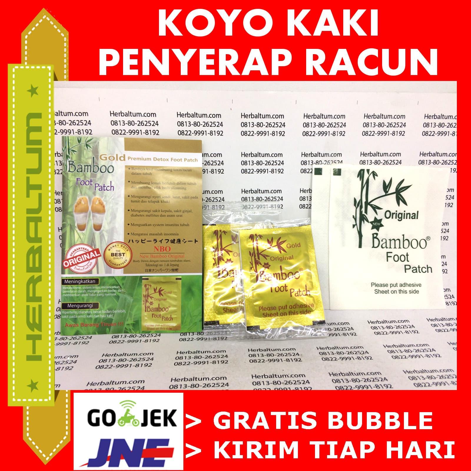 Jual Koyo Kaki Bamboo Gold Premium Original - Stiker Polos - Febryan Paudi | Tokopedia