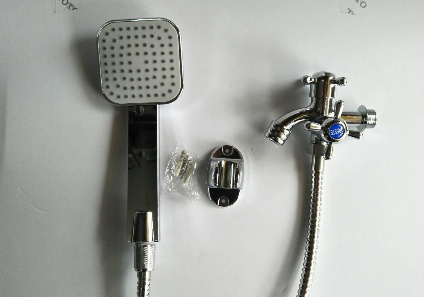Paket Shower / Shower Mandi / Kran Cabang - Blanja.com