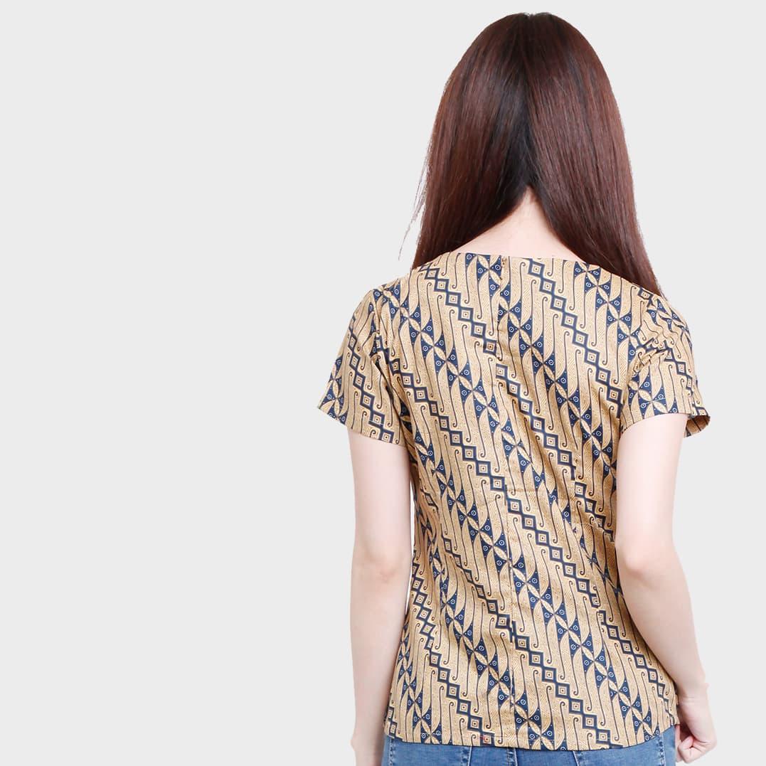 Jayashree Batik Kemeja Slimfit Kama Blue Shortsleeve Wanita Daftar Rafa Short Sleeve Pria Hitam S Blouse Khaki Blanjacom