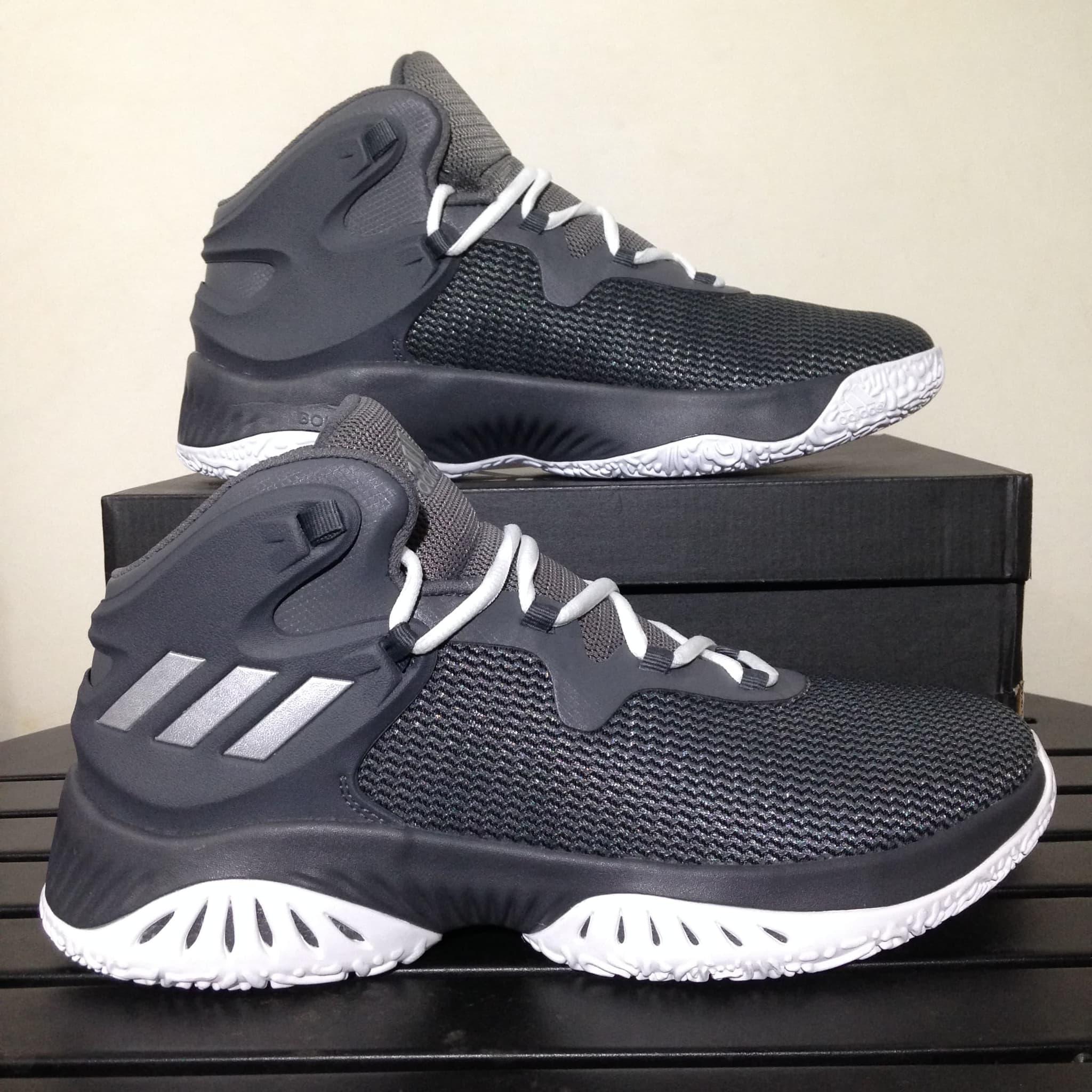 ... Sepatu Basket Adidas Explosive Bounce Grey Four By3779 Original Bnib -  Blanja.com ... e4f4d8de34