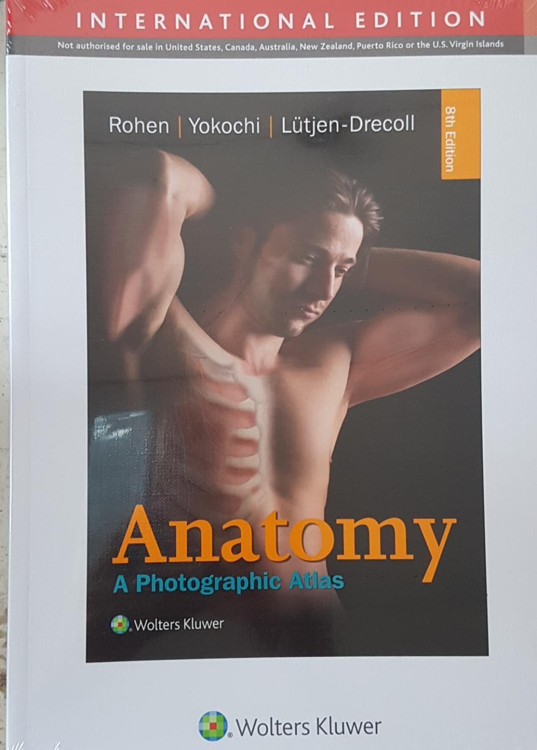 [ORIGINAL] Rohen Yokochi Anatomi : A Photographic Atlas 8e