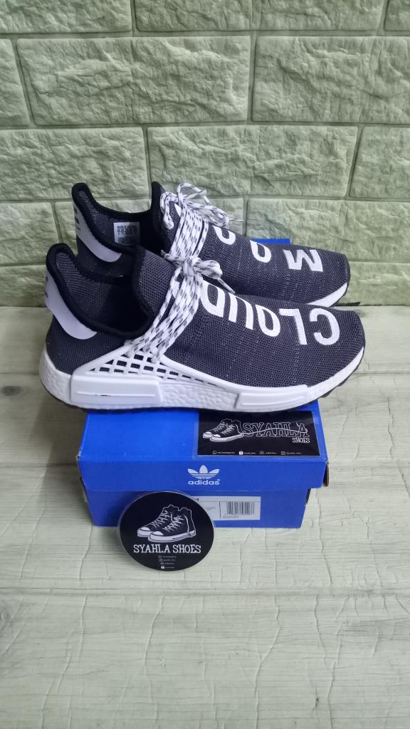 separation shoes 93162 72f83 Jual ADIDAS NMD HUMAN RACE CLOUDS MOOD X PHARRELL WILLIAMS MIRROR QUALITY -  Abu-Abu Muda, 42 - Jakarta Selatan - Syahla Shoes | Tokopedia