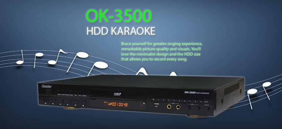 Bless Audio - Geisler Karaoke ok 3500 + Hdd 2 Tera - Blanja.com