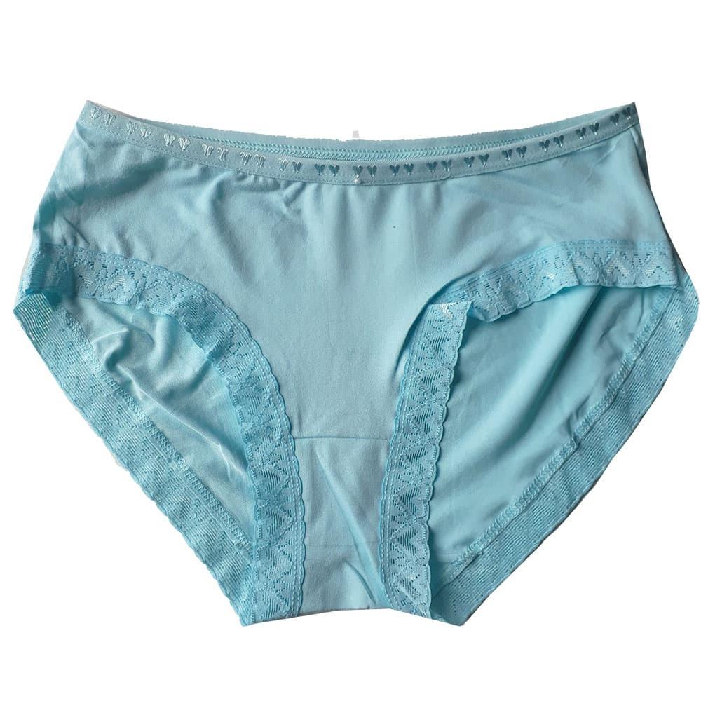 Jual Celana Dalam Wanita Soft Cotton Kombinasi Renda Cantik 6pcs Cd 988 Blanja