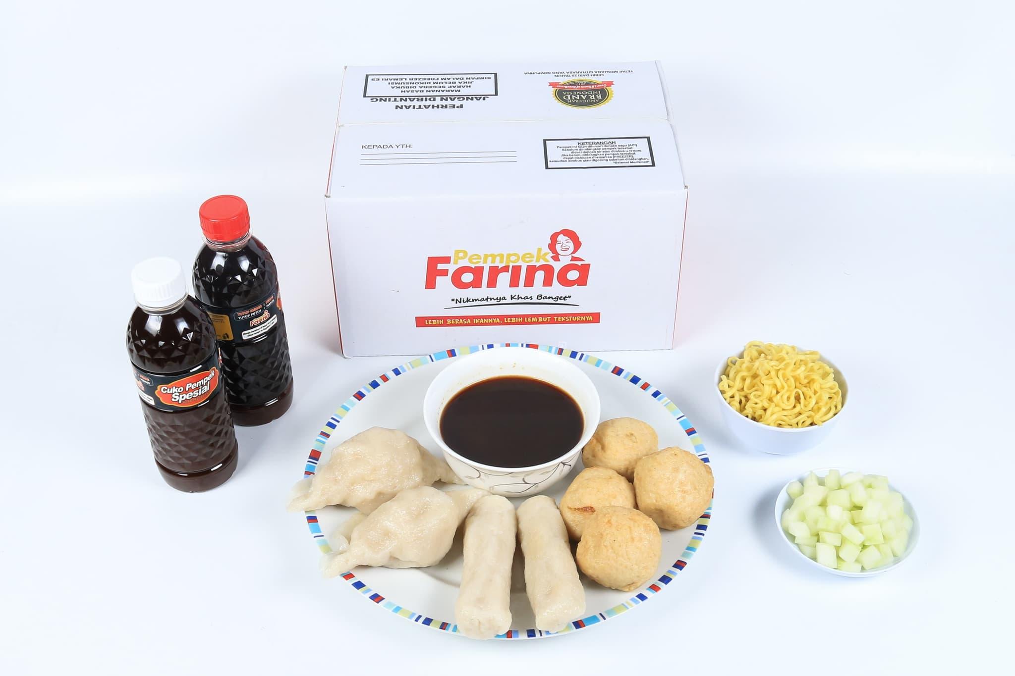 Pempek Farina Paket A1  - Blanja.com