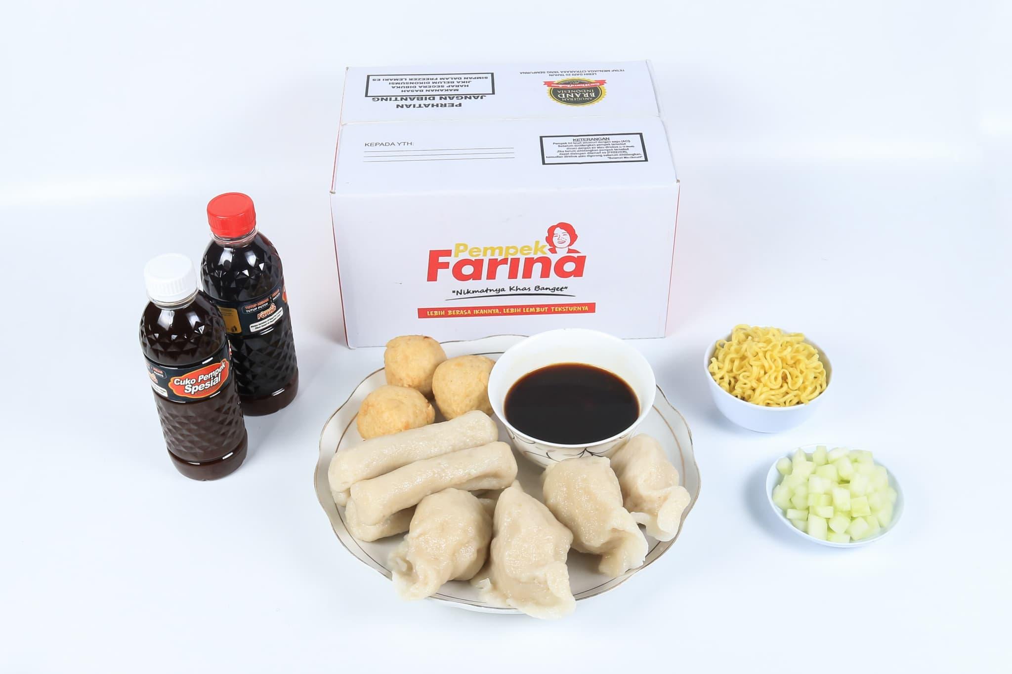Pempek Farina Paket B3 - Blanja.com