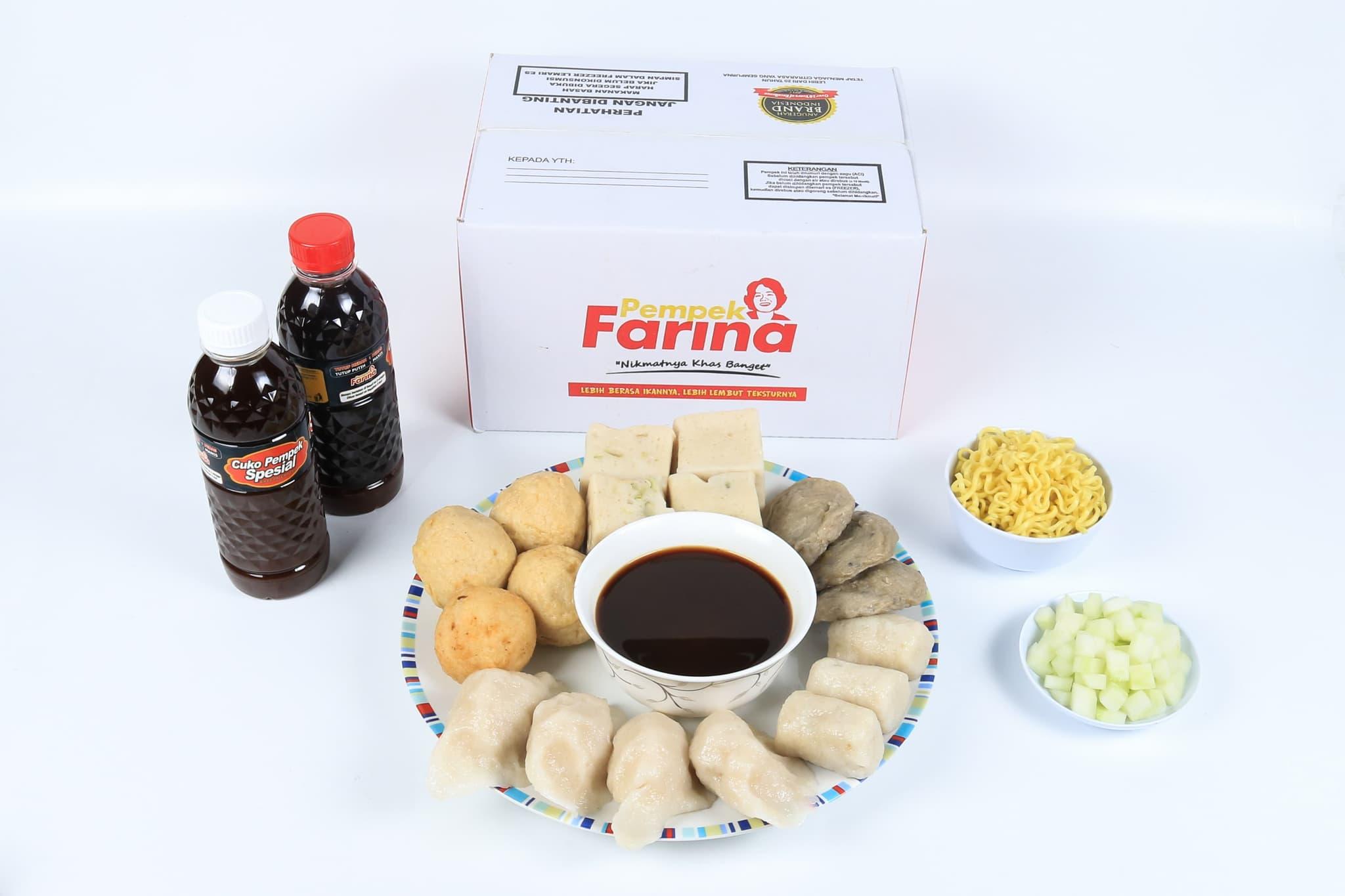 Pempek Farina Paket B2 - Blanja.com